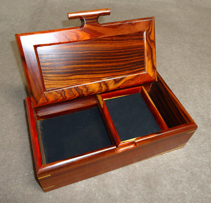 Saper Galleries is the source for handmade wooden boxes from Costa Rica