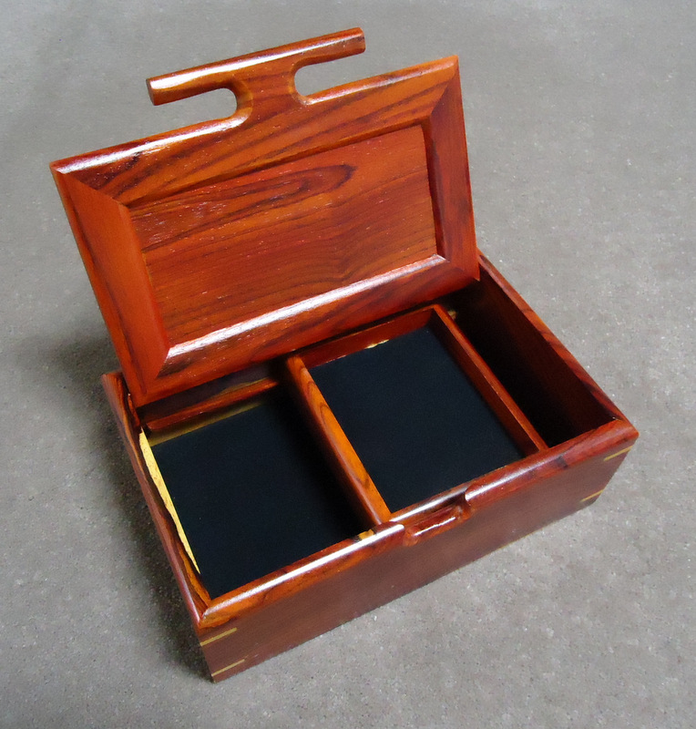 Jewlery box                     opened