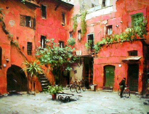 Awesome Rome Courtyard
