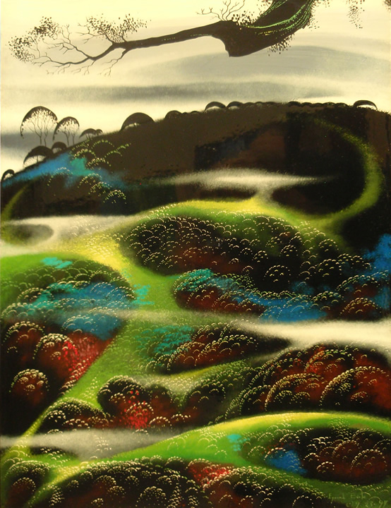 Eyvind Earle                               original paintings