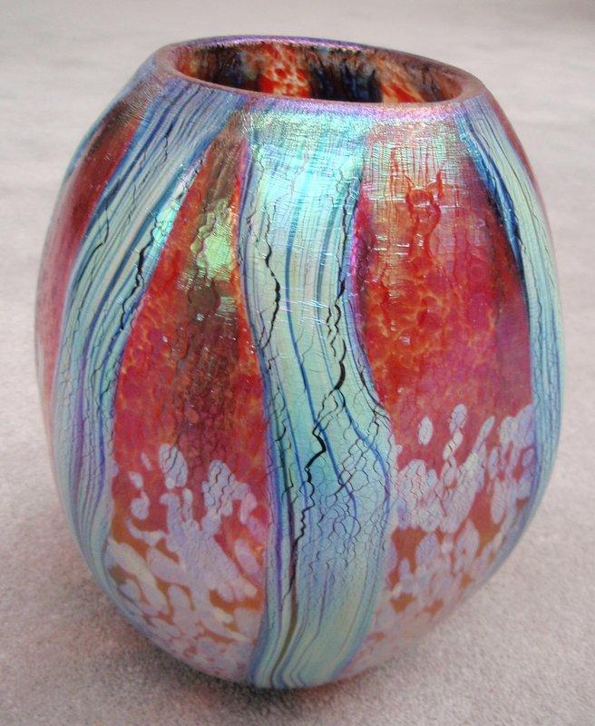 Saper Galleries Is The Source For Robert Eickholt Hand Blown Glass