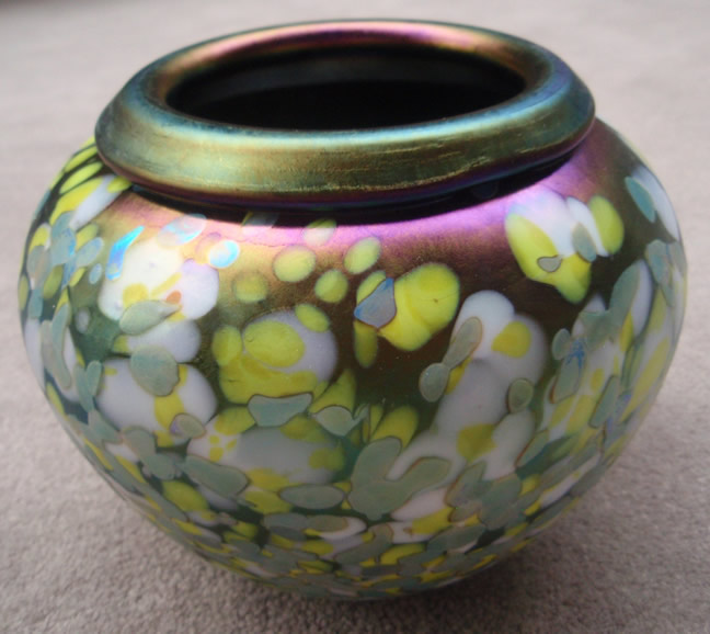 Lemon Drop vase