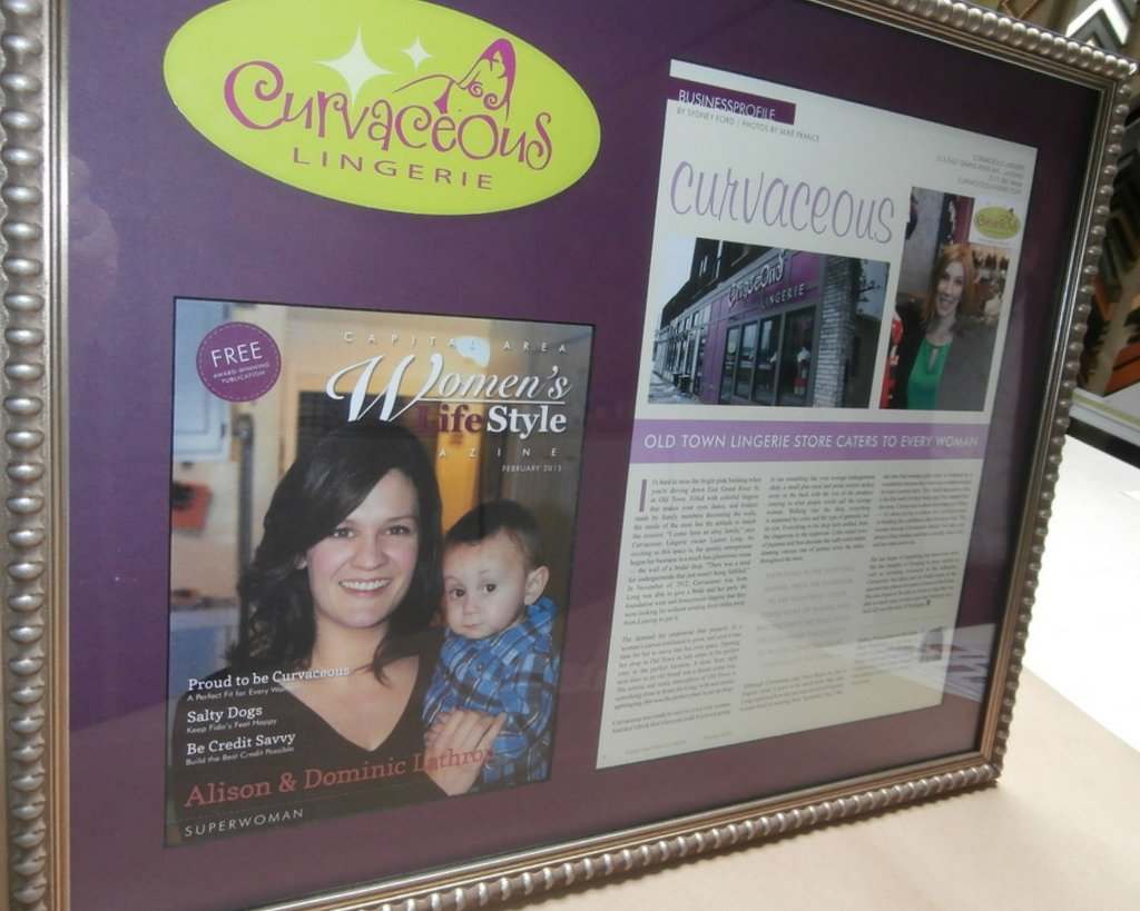 Framing of                 magazine article