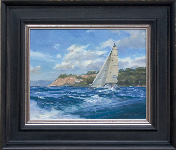 Great Sailing Day framed