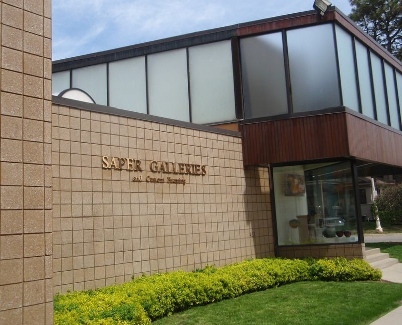 Saper                                   Galleries entrance May 5, 2013