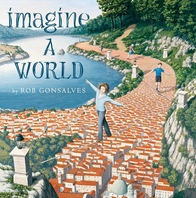 Imagine A World book