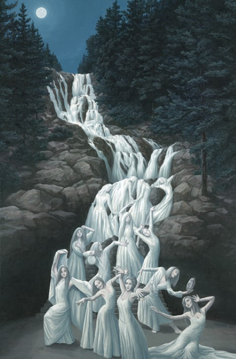 Bailarines de agua