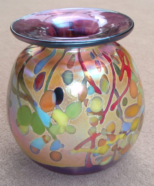 Rick                                       Hunter hand-blown glass