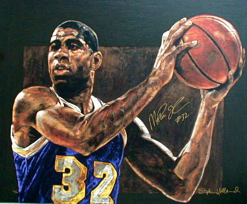 Magic Johnson MagicJohnson33x40-1800