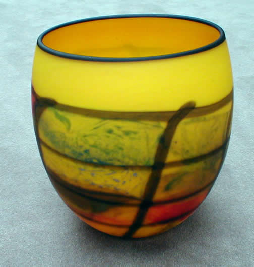 Yellow Karo Vase