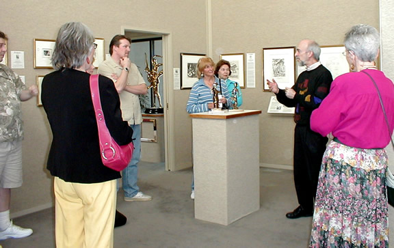 Roy with Friends of Kresge Art Museum