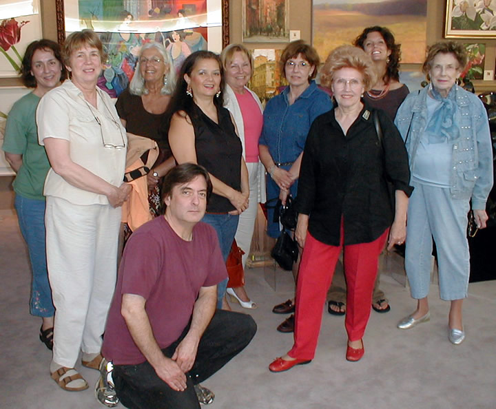 Second                       Monday Art Group from Williamston