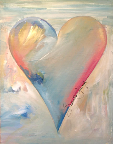 saper galleries is the source for salvatore principe heart paintings