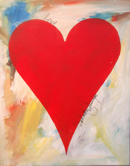 Stunning Principe Hearts With Famous Paintings By Artists Easy
