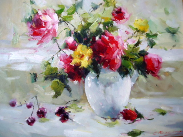 Saper Galleries Is The Source For Small Still Life Oil Paintings